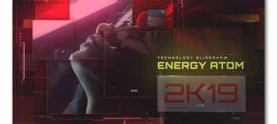 Energy Atom Techno Slideshow