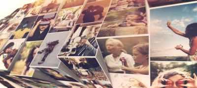 Photo Mosaic Slideshow