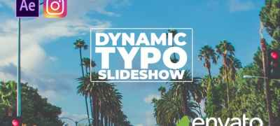Dynamic Typo Slideshow