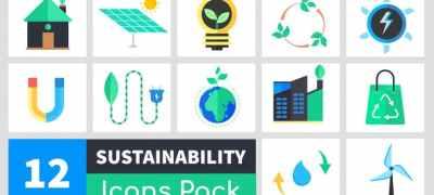 Sustainability Icons Pack