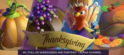 Happy Thanksgiving 3D