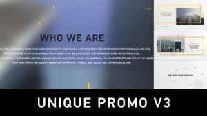 Unique Promo v3 | Corporate Presentation