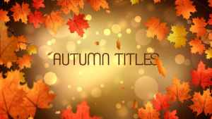 Autumn Titles