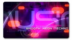 Smooth Techno Neon Slideshow