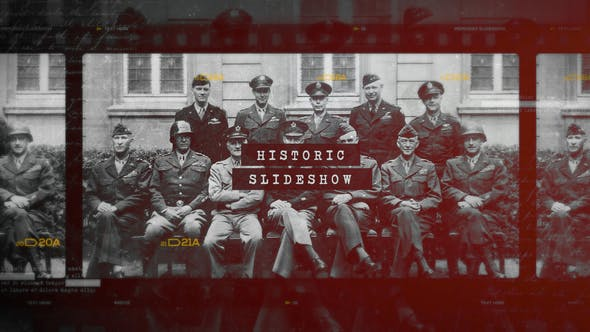 Download Historic Chronicle Slideshow / World War / Old Vintage Memories / Retro Photo Album – FREE Videohive