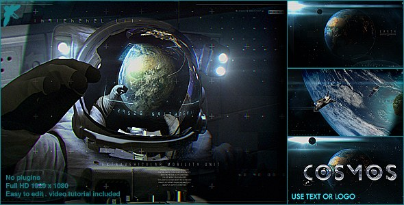VIDEOHIVE EARTH COSMO LOGO FREE