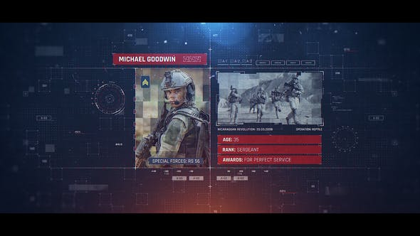 Military Identification 25061334 Videohive