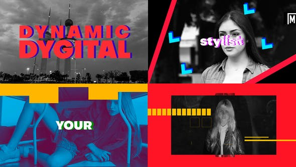 Download Dynamic Digital Intro – FREE Videohive