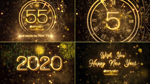 New Year Countdown 2020 23016448 Videohive
