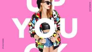 Colorful Fashion Promo Festival