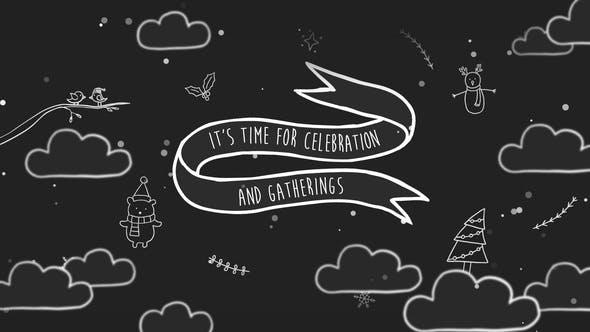 Download Christmas Cartoon Greeting – FREE Videohive