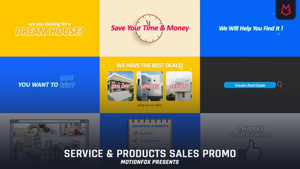 Download Products & Service Promo – FREE Videohive