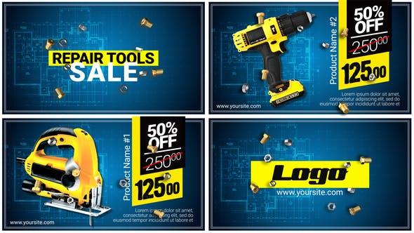 Download Repair Tools SALE – FREE Videohive