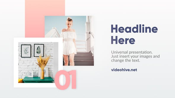 Download Minimal Slideshow – FREE Videohive