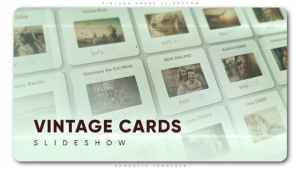 Vintage Cards Slideshow