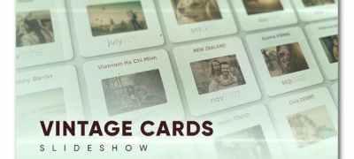 Vintage Cards Slideshow