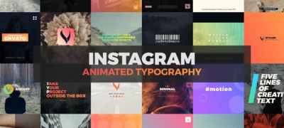 Instagram Typography