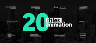20 Animated Titles