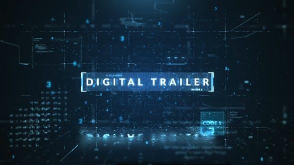 Download Digital Trailer – FREE Videohive