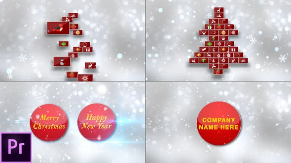 Download Christmas Card – Premiere Pro – FREE Videohive