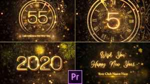 New Year Countdown 2020 - Premiere Pro