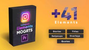 Instagram Elements Pack-MOGRT