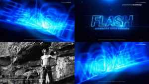 FLASH Cinematic Title