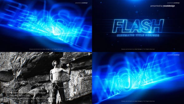 Download FLASH Cinematic Title – FREE Videohive