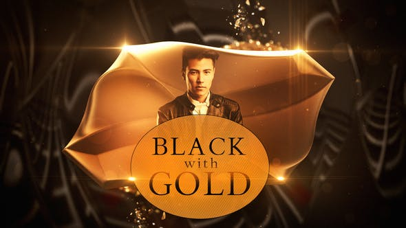 Download Black with Gold – FREE Videohive
