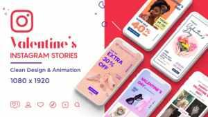 Valentine Instagram Stories