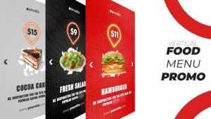 Food Menu Promo (Vertical)