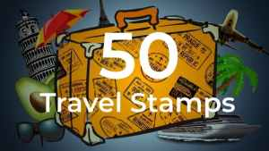 50 Travel Stamps
