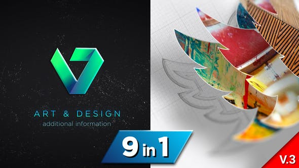 Drawing 3D Logo Reveal v3 24094750 Videohive