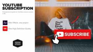 YouTube Subscribe Like Get Notified Promotion Kit