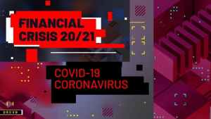 Financial Crisis/ Coronavirus COVID-19/ Business Analytics/ Virus/ Techno Blog/ Youtube Intro/ TV/ I