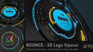 BOUNCE - 3D Logo Opener
