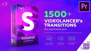 Videolancer's Transitions for Premiere Pro | Original Seamless Transitions