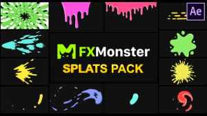 Splats Pack | After Effects