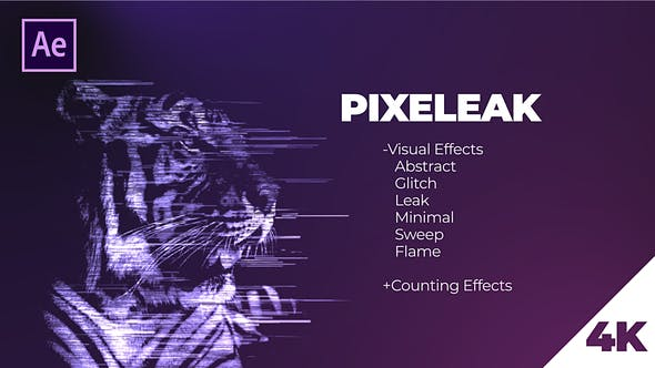 Download Pixeleak | Effects Pack – FREE Videohive
