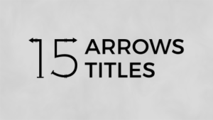 Arrows Titles