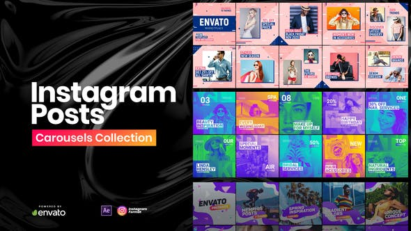 Download Instagram Posts Collection – FREE Videohive