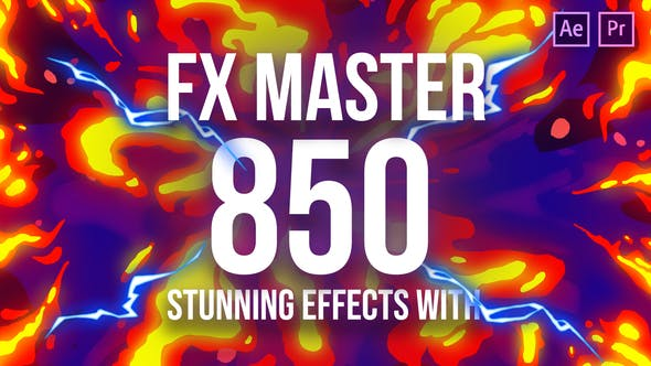Download FX Master – Cartoon Action Elements – FREE Videohive