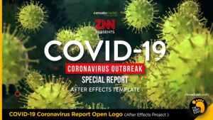 COVID-19 Coronavirus Report Open Logo
