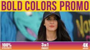 Bold Colors Promo