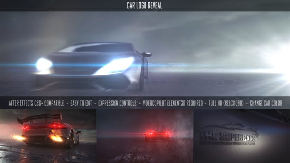 Download Car Logo Reveal – FREE Videohive