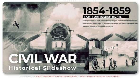 Download Civil War History Slideshow – FREE Videohive