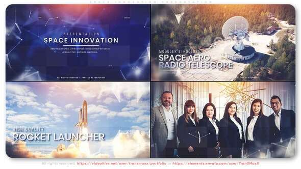 Download Space Innovation Presentation – FREE Videohive