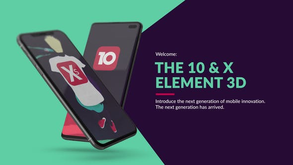 Download The 10 & X for Element 3D – FREE Videohive