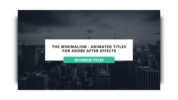 Download The Minimalist – Videohive