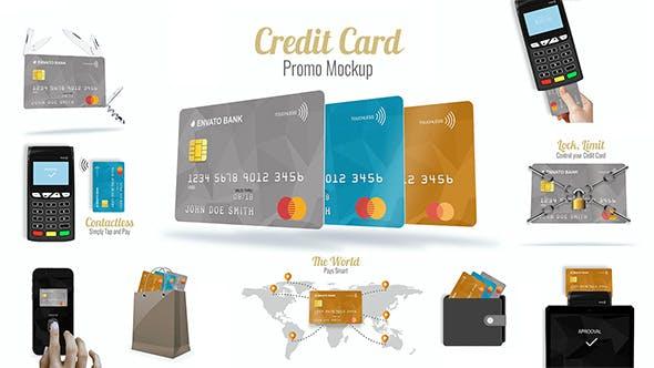 Download Credit Card Promo Mock-up – Videohive